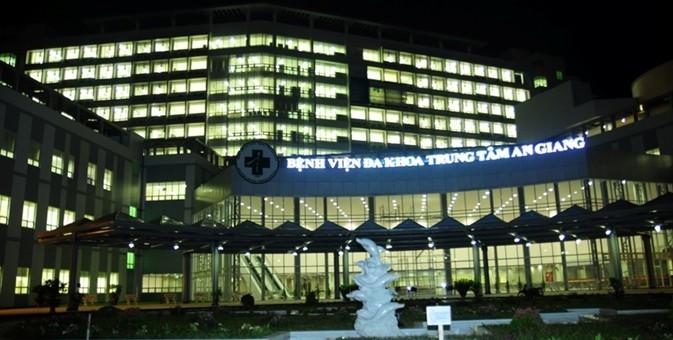 Minh Nam chuẩn bị bàn giao công trình BV Đa Khoa Trung Tâm An Giang